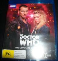 Doctor Who The Complete First Series 1 (Australia Region B) Bluray – New