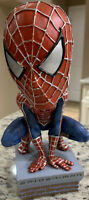 2002 NECA Marvel Spider-Man Head Knocker Bobble Head Figure