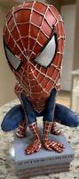 2002 NECA Marvel Spider-Man Head Knocker Bobble Head Figure