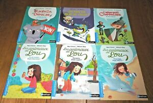 Lot Jeunesse 6 Livres PREMIERES LECTURES Editions Nathan CP