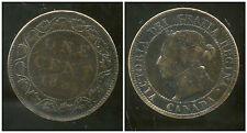 CANADA  one 1 cent  1895 ou 1896 ?