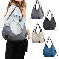 Women Handbag Shoulder Bags Large Tote Purse Travel Messenger Canvas Hobo Bag