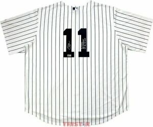Chuck Knoblauch Signed NY Yankees Jersey 91 AL ROY, 4x WS Champs & More TRISTAR