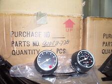 NOS Harley Davidson Red Dot Speedometer Tachometer Gauges Meter Assy 92058-77B