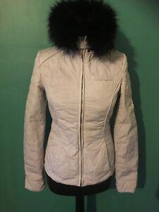 Ladies Down Filled Lilac Waterproof HUNTER Jacket Size XS (UK 6 - 8)