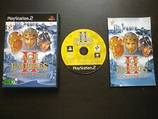 JEU Sony PLAYSTATION 2 PS2 : AGE OF EMPIRES II The Age Of Kings (COMPLET suivi)
