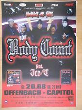 BODY COUNT  2006  OFRENBACH  orig.Concert Poster - Konzert Plakat   A1 xx