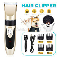 4 Guide Pet Dog Cat Grooming Clippers Hair Trimmer Groomer Shaver 3/6/9/12mm +