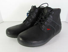 Fitflop Mens Flex Boot Lace Up Chukka Boot Shoes, Black, US 8