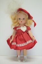 Valentine Sweetheart jointed plastic storybook doll Nasb