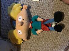 2001 Hey Arnold Plush Nanco Vintage Nickelodeon 11 Inch