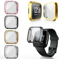 Band Protector Soft Cover Bumper Full Coverage Watch TPU Case For Fitbit Versa