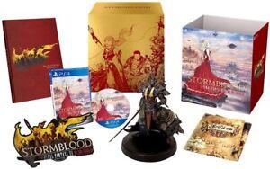 NEW Final Fantasy XIV STORMBLOOD Crimson's Liberator Collector's Edition PS4