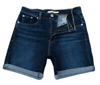 Levi's Women's Global Classic Shorts In Marina Dark Blue