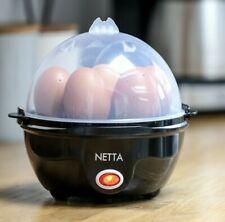 350W Electric Egg Boiler Poacher Cooker 7 Eggs Grade B Used