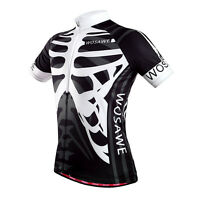 2016 Men's Cycling Skeleton Jersey Comfortable Bike/Bicycle Outdoor Shirts Tops