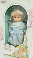 Lovely Laura Doll 1990 By Manley Toys New York Cloth Body Vinyl Arms & Legs NIB