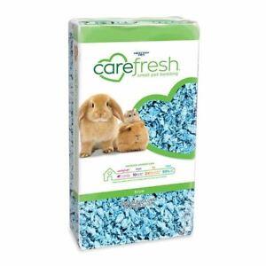 Carefresh Blue Premium Bedding For Small Pet Rabbit Guinea Pig Hamster 10L