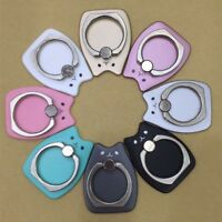 360 Degree Mobile Phone Finger Ring Holders Stand Holder For iPhone Samsung HTC