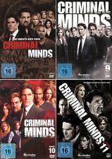 Criminal Minds - Die komplette 8. - 11. Staffel                      | DVD | 444
