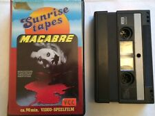 Macabre / Lamberto Bava / Vcc / Sunrise Tapes / Durch/ Pre Cert Interest