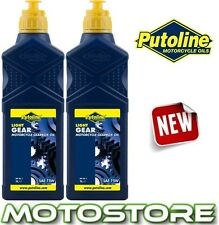PUTOLINE MOTORCYCLE LIGHT GEAR BOX SYNTHETIC FORTIFIED SAE 75W OIL 2 LITRE 2L