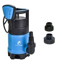 FLUENTPOWER 3/4 HP Sump Pump with Max Flow 3300 GPH for Dirty/Clean Water