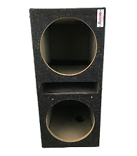 """ATrend Two 12"""" Sub Woofer Box"""