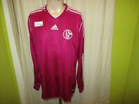 FC Schalke 04 Original Adidas Formotion Langarm Spieler Trikot 2012/13 Gr.L