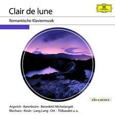 CLAIR DE LUNE-ROMANTISCHE KLAVIERMUSIK  CD NEW+ CHOPIN/DEBUSSY/BRAHMS/SATIE