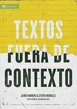TEXTOS FUERA DE CONTEXTO - NAMNUN, JAIRO (EDT)/ MORALES, STEVEN (EDT)/ CARSON, D