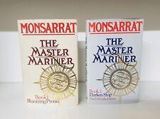 The Master Mariner Nicholas Monserrat hardback 2 book Bundle (q)