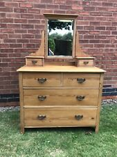 More details for victorian pine dressing table