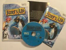 NINTENDO Wii KIDS GAME SURF'S UP +BOX & INSTRUCTIONS / COMPLETE PAL