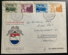 1956 Binnen Dutch New Guinea First Day Cover FDC To The Hague Netherlands