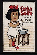 45157/publicitarias marca-GEKA jabón-por fortuna Kraus-Schweinfurt