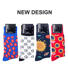 Sock 8 PK Unisex Stance Funky Novelty Odd Gift Party Casual Formal Work Sox Set5