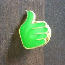Thumbs Up (Green) Pin Badge