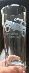 Personalised Glass Not A F** Landrover Stemmed/Stemless **CHECK INFORMATION**
