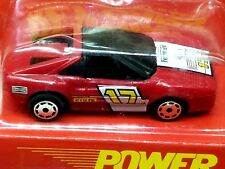 Matchbox BURNIN KEY CAR Ferrari #17 Red with POWER KEY LAUNCHER 1/64 Scale Rare