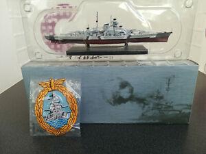 "Atlas Edition Schlachtschiff ""Bismarck""  Maßstab 1 : 1250 in OVP"