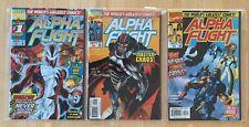 Alpha Flight 1 - 16 High Grade Comic Books ML7 – 158