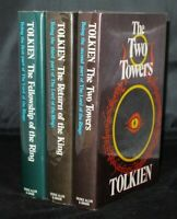 J.R.R. Tolkien The Lord of the Rings 3 Volumes 2nd Edition 10th/11th Impressions
