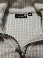 TONI SAILER Women's fleece Light Pullover Sweater jacket 38 / US 6  Full Zipper