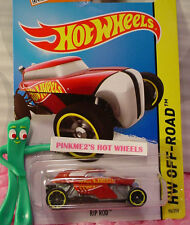 Case L 2015 Hot Wheels Rip Rod #96∞Red/Gray/Black; yellow∞Test Facility