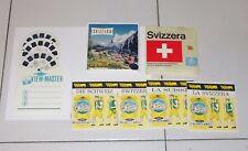 View Master Sawer's SVIZZERA SWITZERLAND Suisse Schweiz C160 No Gaf 1965