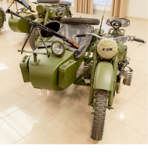 Cossack Ammo Box Canister URAL 650 СС, 750 СС, Gear Up, Patrol, Tourist, Dnepr