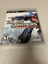 Transformers: War for Cybertron (Sony PlayStation 3, 2010) PS3 CIB Complete!