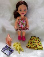 1990 Kelly Doll BRUNETTE HAIR w/DOLL & HORSE TOY EXTRA DRESS BOOK
