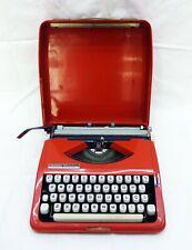HERMES Baby Vintage TYPEWRITER orange with Case